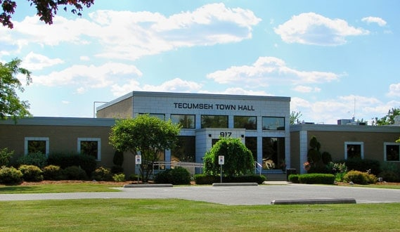 Tecumseh Ontario Town Hall