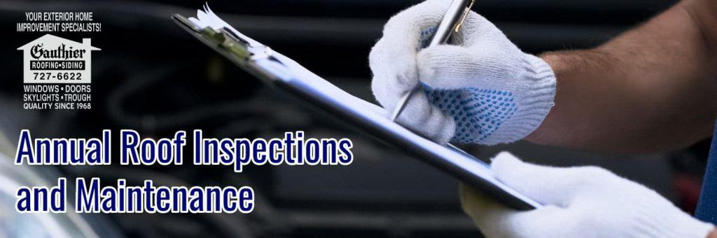 blog content - annual roof inspections and maintenance image